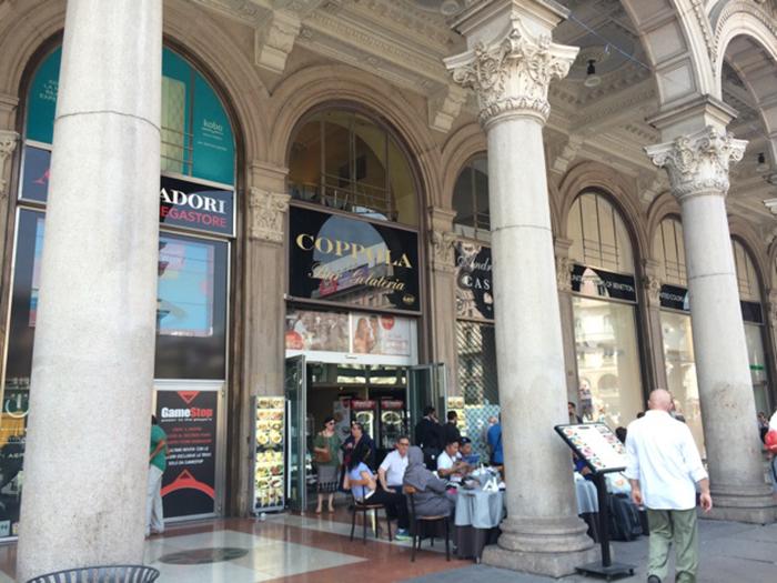 ミラノで人生初のカフェに挑戦しました